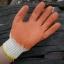 ถุงมือผ้าทอเคลือบยางพาราสีส้ม thumbnail 1