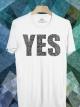 BP429 เสื้อยืด YES