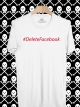 BP371 เสื้อยืด #DeleteFacebook #1