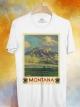 BP121 เสื้อยืด Retro City : Montana