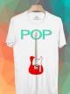 BP343 เสื้อยืด POP GUITAR