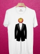 BP327 เสื้อยืด หัวแอ๊ปเปิ้ล