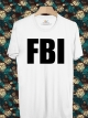 BP477 เสื้อยืด FBI