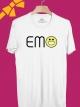 BP335 เสื้อยืด EMO ยิ้ม