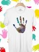 BP244 เสื้อยืด ฝ่ามือ #2