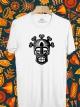 BP502 เสื้อยืด หน้ากากชนเผ่า #1