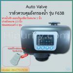 วาล์วควบคุมถังกรองน้ำ Auto Valve Intel/Outlet 1 นิ้ว คอ 2.5 นิ้ว รุ่น F63B สำหรับสารกรองเรซิ่น