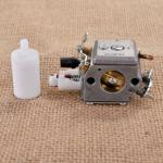 Carburetor & Fuel Filter for Husqvarna 340 345 350 351 353 Carbrador Chainsaw ZAMA Carb # 503283208 503 28 32-08