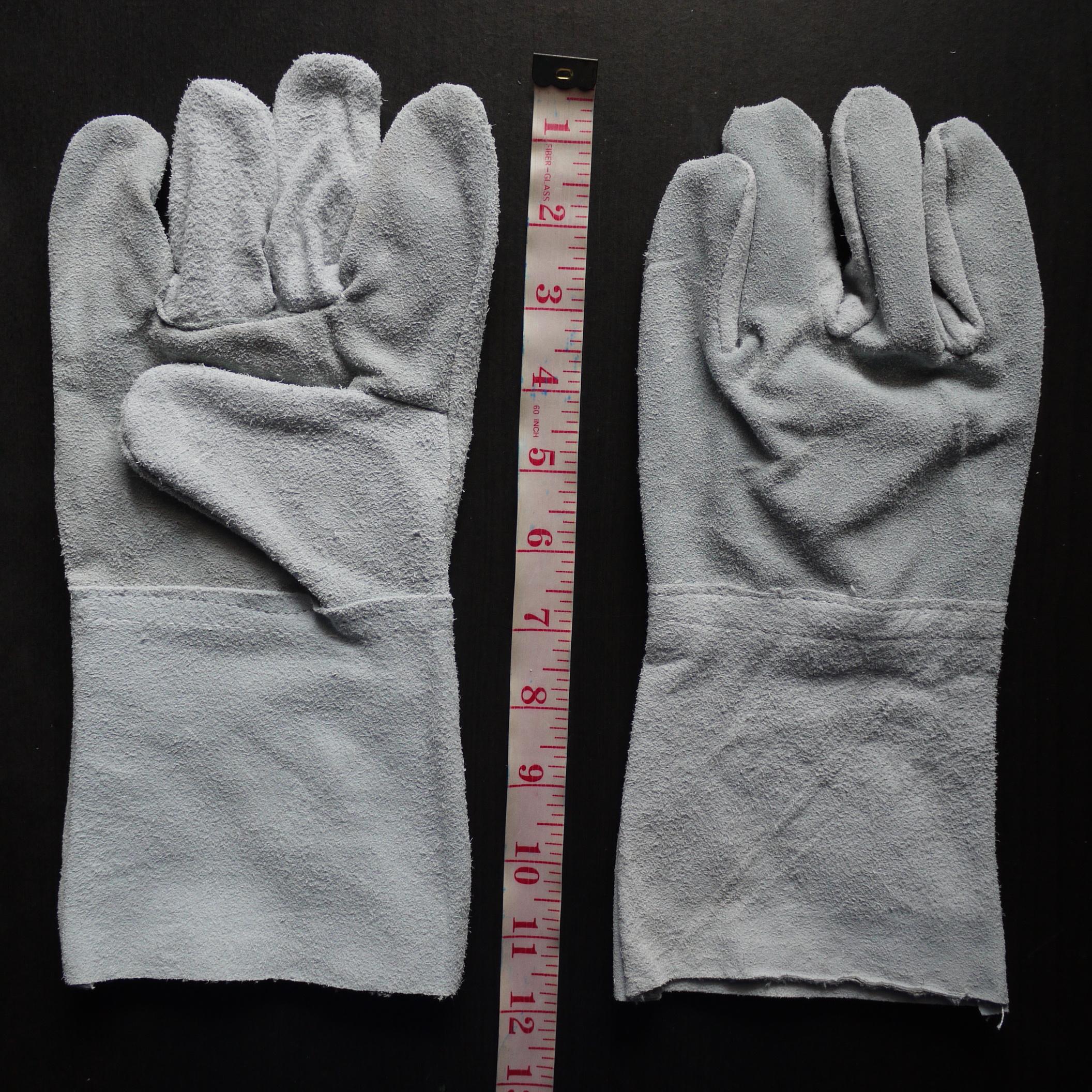 ถุงมือหนังท้อง ยาว 12 นิ้ว