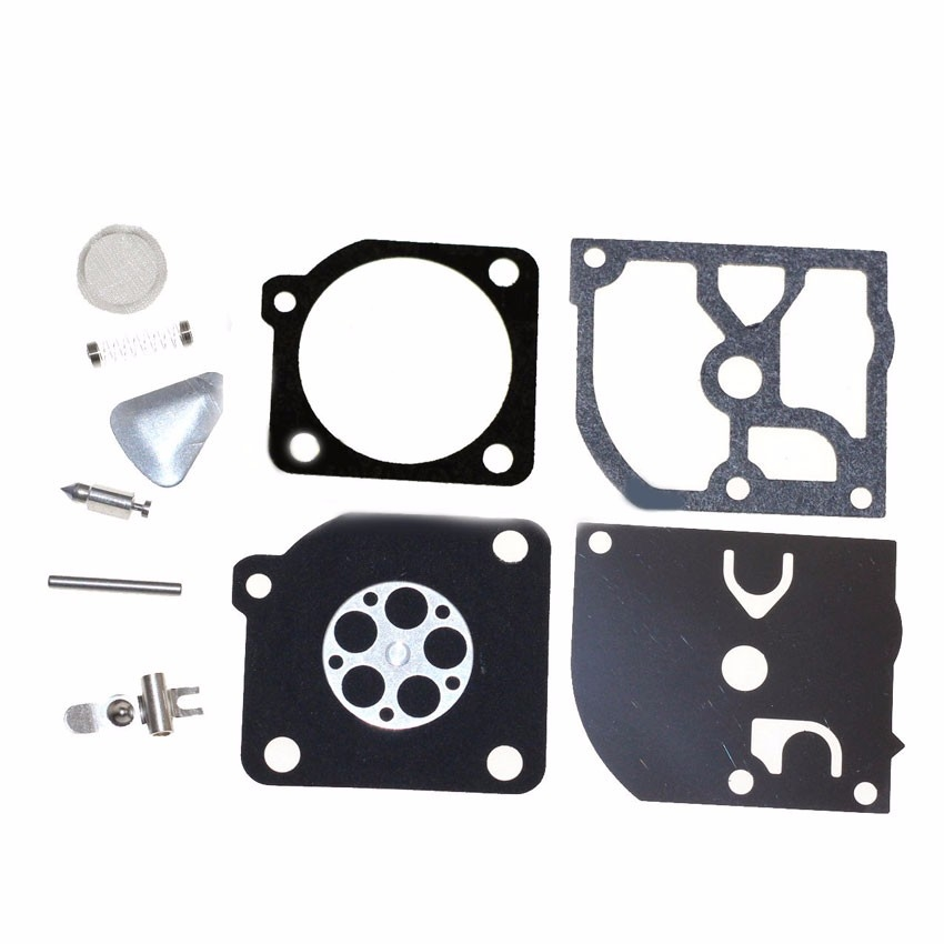 For Zama RB-45 Carb carburetor rebuild kit for Husqvarna 45 49 51 55 trimmers 240R 245R Chain saw