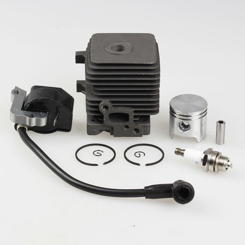 34mm Cylinder Piston Kits with ignition Coil Fit STIHL FS55 FS45 BR45 KM55 HL45 HS45 KM55 HL45 HS45 HS55 Trimmer