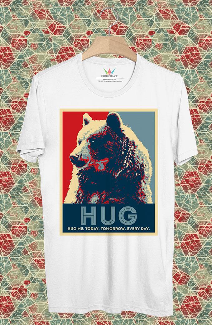 BP96 เสื้อยืด HUG