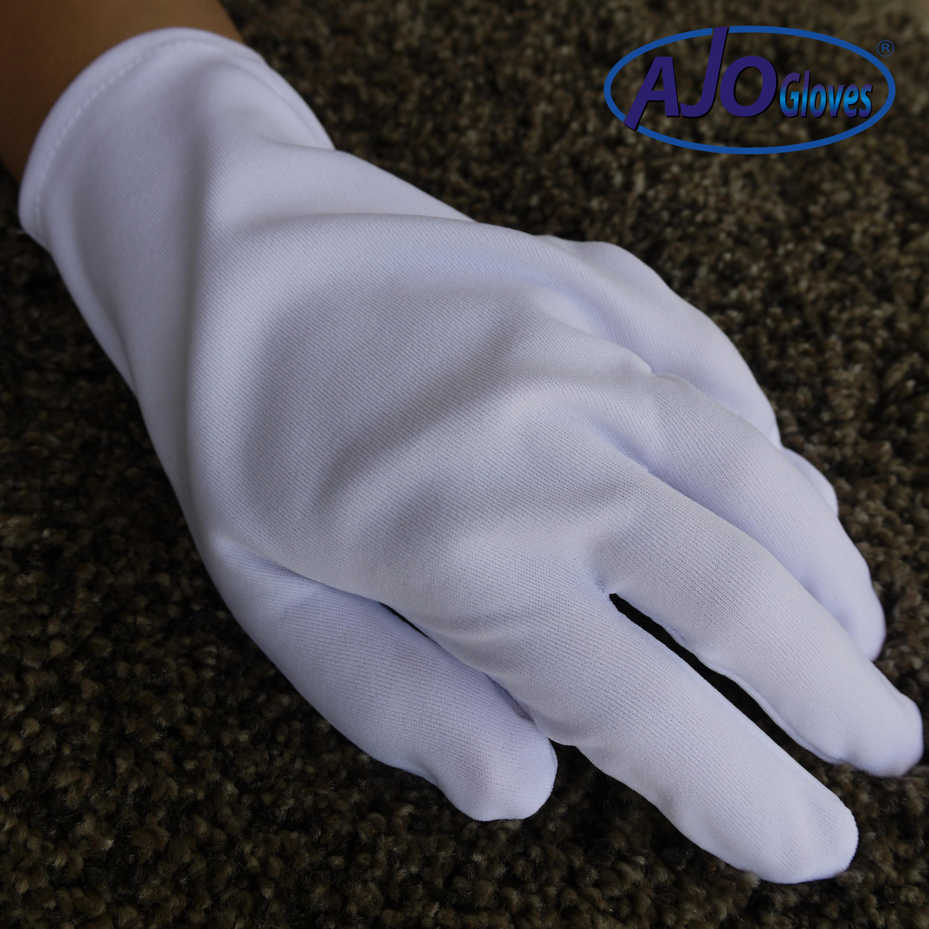 ถุงมือผ้าโพลีเอสเตอร์ ไม่ต่อข้อ