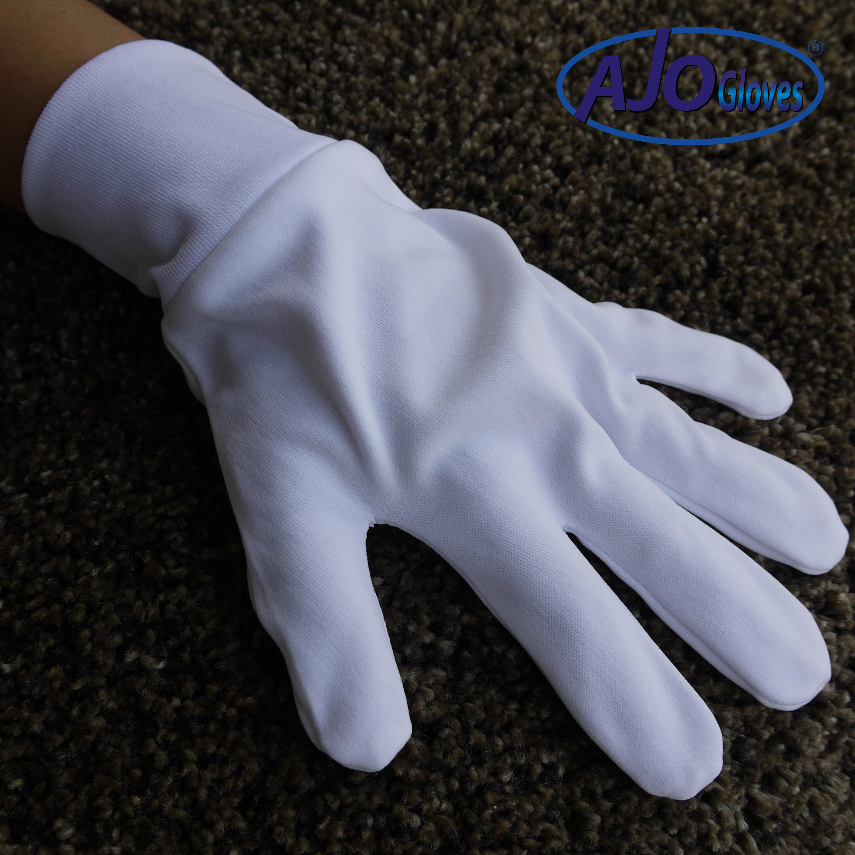 ถุงมือผ้าโพลี ต่อข้อ