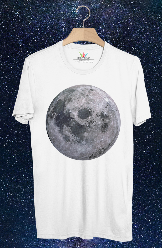 BP392 เสื้อยืด Moon:ดวงจันทร์