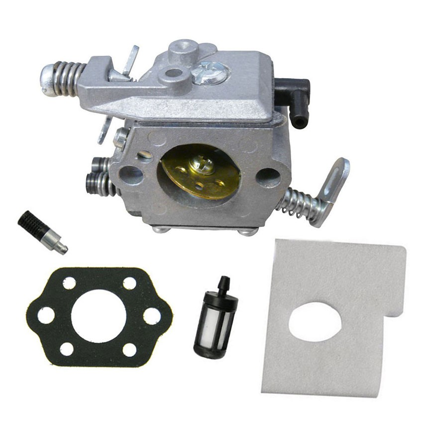 Chinsaw parts of Carburetor FOR STIHL MS170 MS180 017 018 Walbro Carb Air Fuel Filter Gasket