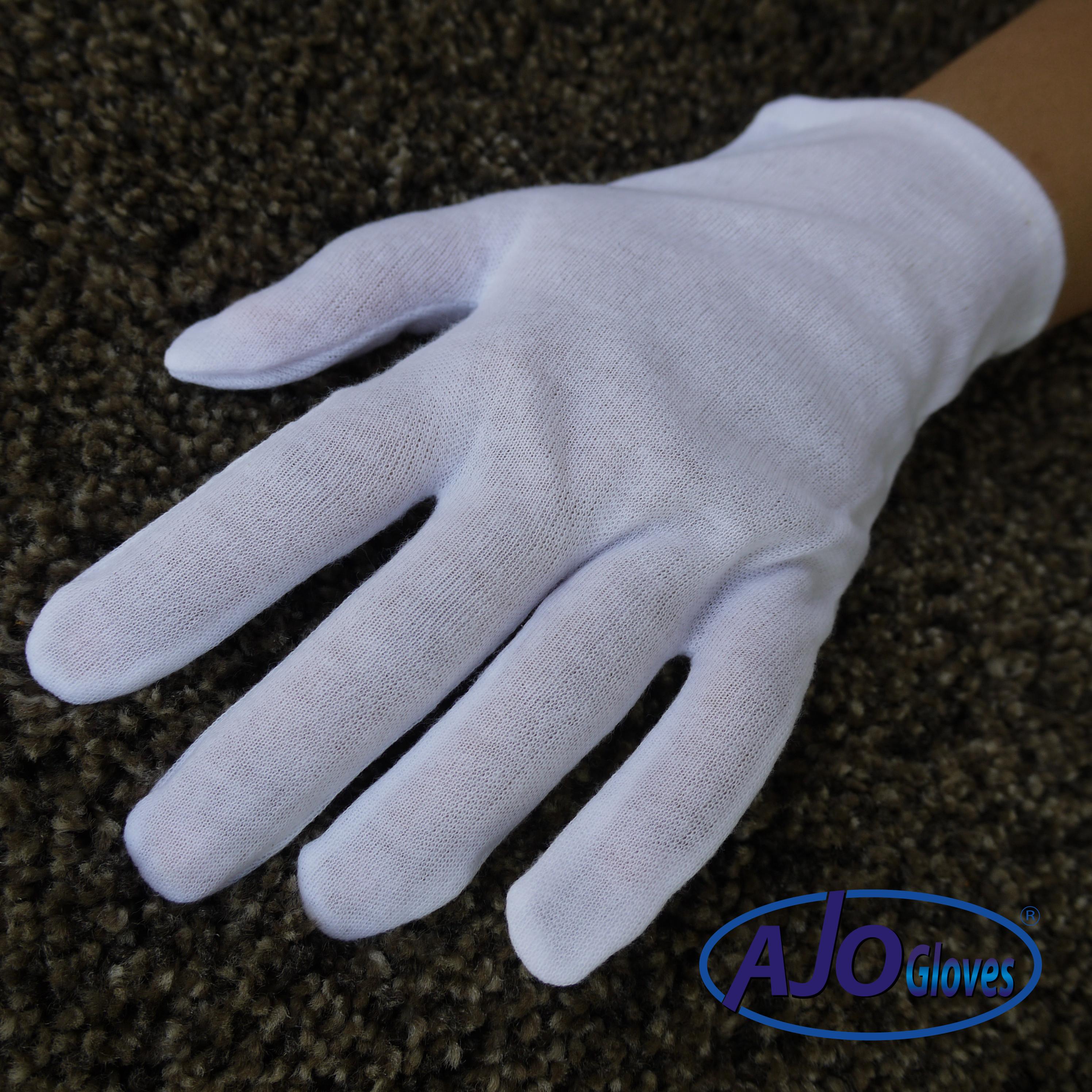 ถุงมือผ้าทีซีไม่ต่อข้อ