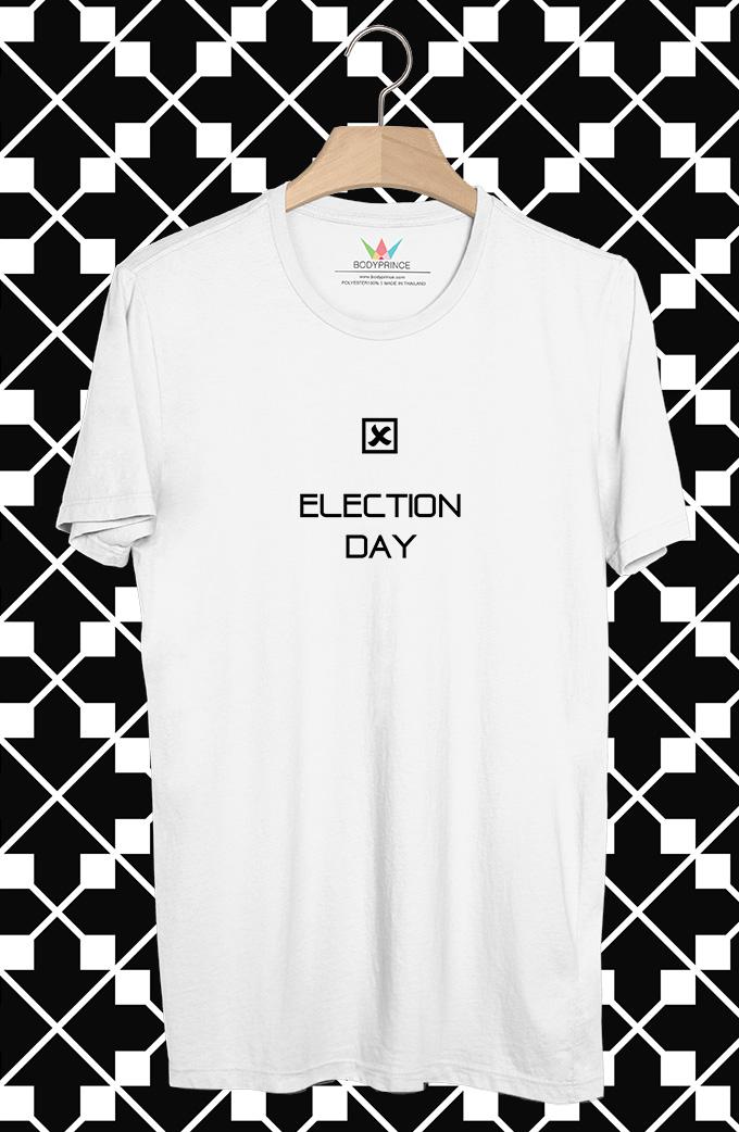 BP402 เสื้อยืด Election Day #1