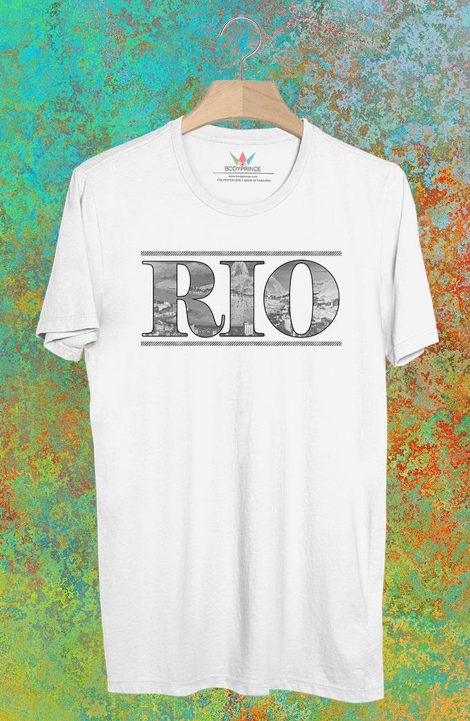 BP233 เสื้อยืด RIO