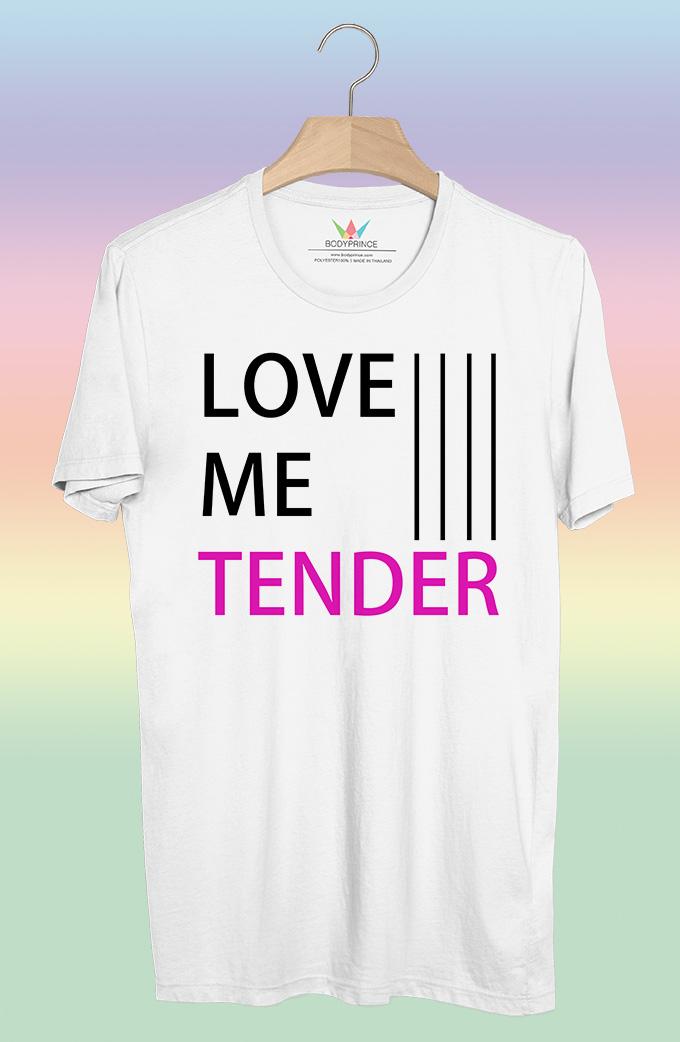 BP441 เสื้อยืด Love Me Tender