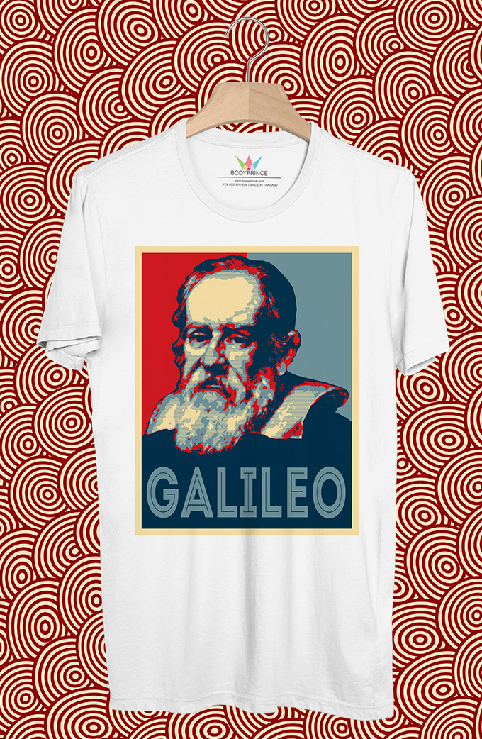 BP369 เสื้อยืด Galileo Galilei