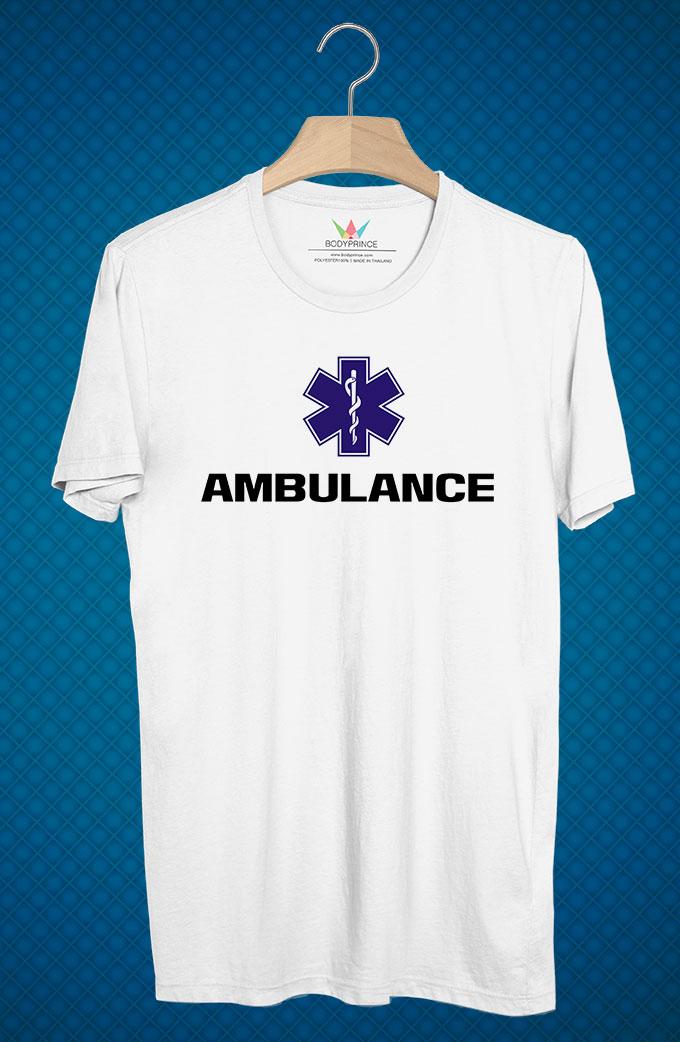 BP62 เสื้อยืด Ambulance