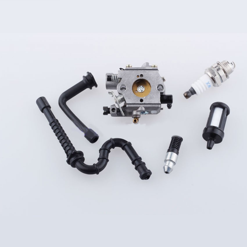 Wholesale Price 024 026 MS 240 MS 260 Chainsaw Parts Carburador Carburetor & Fuel Oil Line Filter for stihl