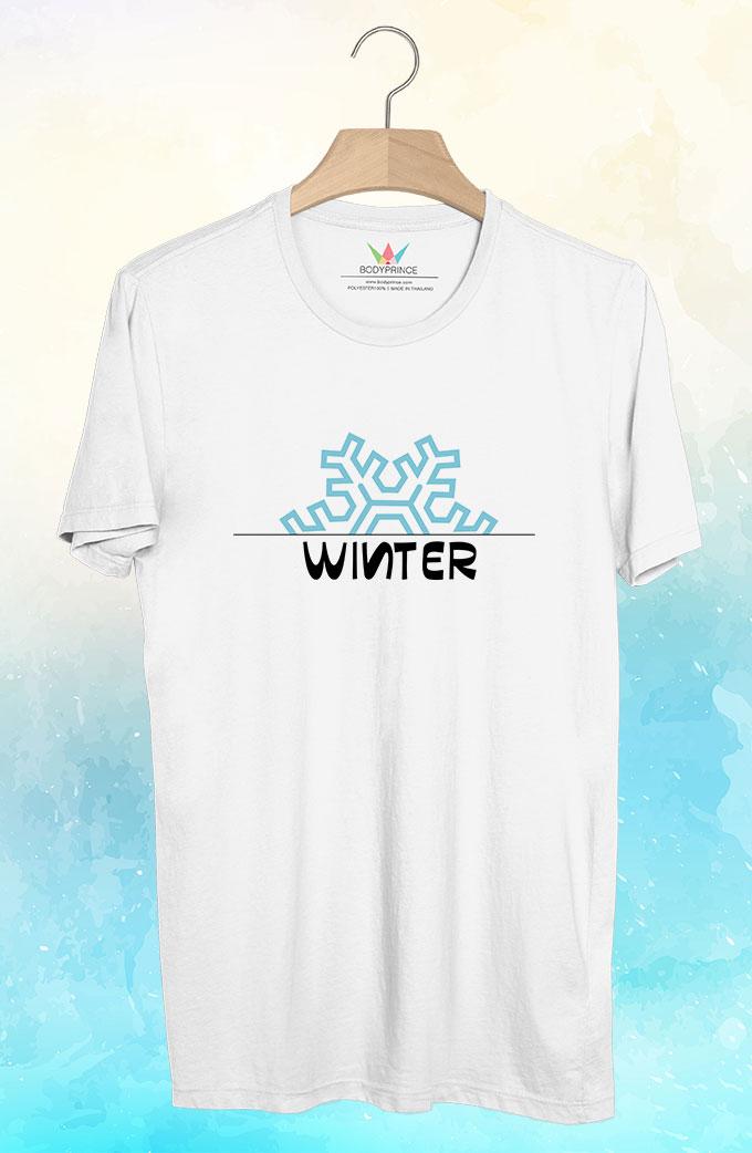 BP39 เสื้อยืด Winter Season