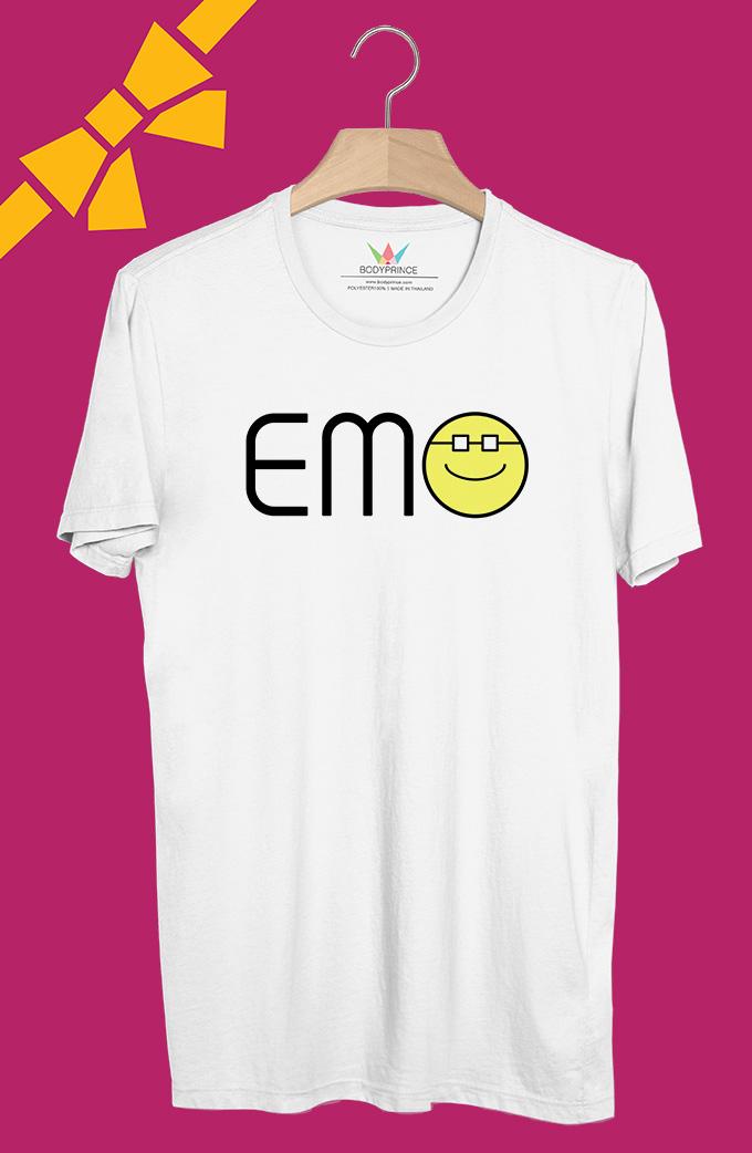 BP339 เสื้อยืด EMO อ้วนแว่น