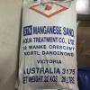 สารกรองแมงกานีส กรีน แซนด์ (Manganese Green Sand) ขนาดบรรจุ 25 ลิตร (32 กก.)