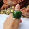 แหวนหยก Tian Biyu เขียวจักรพรรดิ