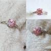 R0047แหวนคริสตัล Pink Spinel