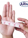 การวัดขนาดมือ