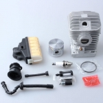 Chainsaw Saw For Stihl 021 MS210 Cylinder Piston Kit Air/Fuel/Oil Filter Line Rep 1123 020 1218