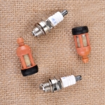 2PCS Fuel Filter Spark Plug For Stihl 017 018 021 023 025 026 028 MS170 MS180 MS210 MS230 MS250 Chainsaw