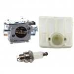Carburetor & Air Filter For Husqvarna Husky 61 66 181 266 281 288 272 272XP Chainsaw # 501807105