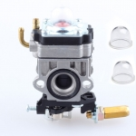 Carburetor Carb + Primer Bulb For ECHO SRM2610 SRM2601 PE2601 Grass Trimmer Parts # 12300057730