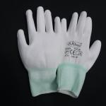 ถุงมือโพลีเคลือบ PU สีขาว (PU Palm Fit)