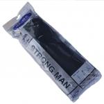 ถุงมือยางสีดำ STRONG MAN ยาว 16 นิ้ว