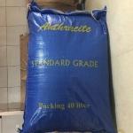 สารกรองน้ำแอนทราไซต์ (Anthracite) บรรจุกระสอบละ 40 ลิตร