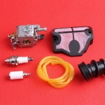 Carburetor Air Fuel Filter Oil Line Hose For HUSQVARNA 137 141 142 Carburedor Carb Chainsaw