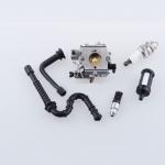 Wholesale Price 024 026 MS 240 MS 260 Chainsaw Parts Carburador Carburetor & Fuel Oil Line Filter for stihl