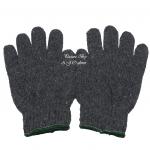 ถุงมือผ้าทอ 7 ขีด สีเทา