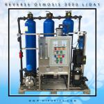เครื่องกรองน้ำดื่มอุตสาหกรรม ระบบ RO+Softener กำลังการผลิต 3,000 ลิตร/วัน