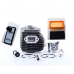 49mm Cylinder W/ Fuel Air Filter & Piston Rebuild Kit for STIHL TS400 TS 400 Chainsaw Engine Free Shipping