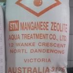 สารกรองแมงกานีส กรีน แซนด์ (Manganese Zeolite) ขนาดบรรจุ 25 ลิตร (32 กก.)