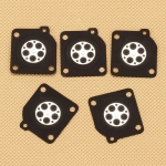 10 PCS Metering Diaphragms Carburetor Gasket Kit For Zama C1M C1S A015006 Lawnmower Blowers