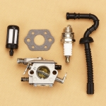 Chainsaws For Zama C1Q-S11E Fit STIH 021 MS210 023 025 MS230 MS250 Carburetor Carb Kit Air Fuel line
