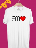BP340 เสื้อยืด EMO หัวใจ