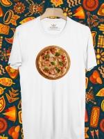 BP451 เสื้อยืด Pizza #1